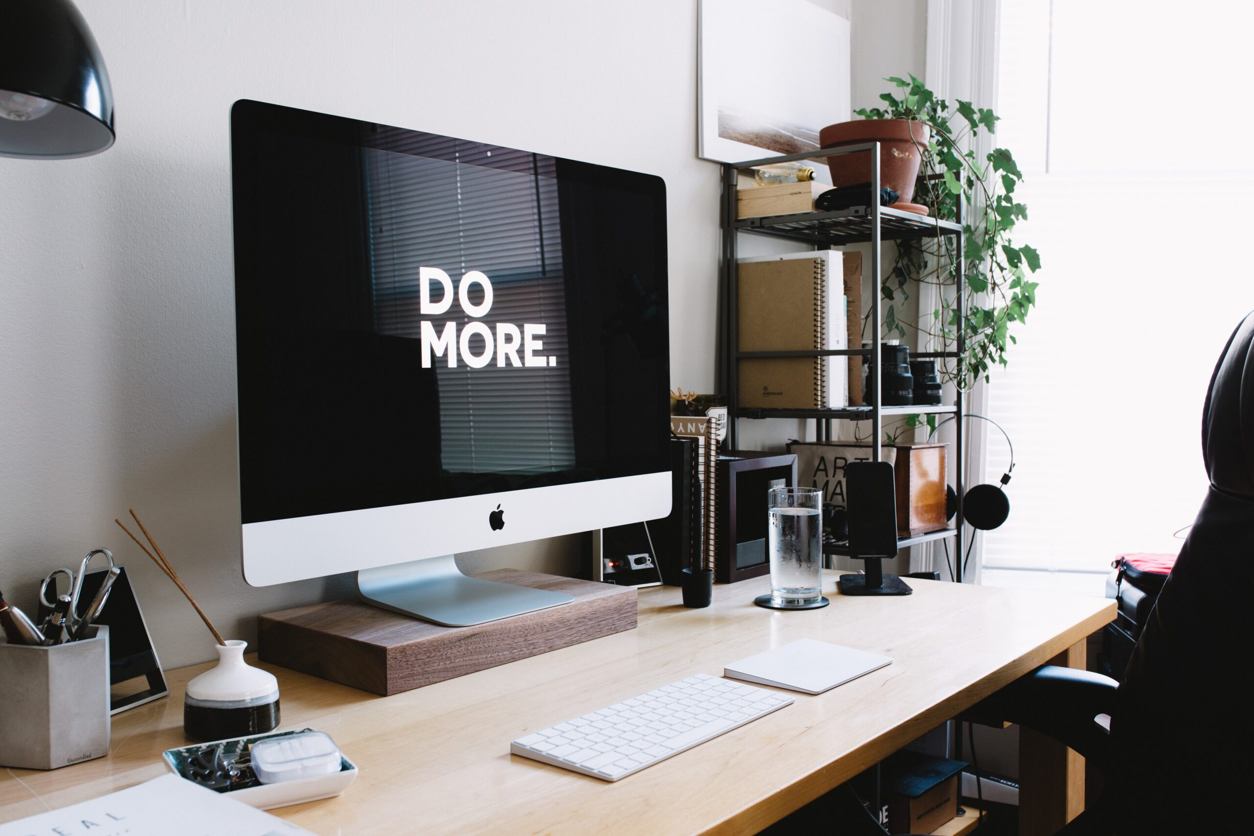 Do more written on PC screen